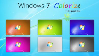Windows 7 Colorize